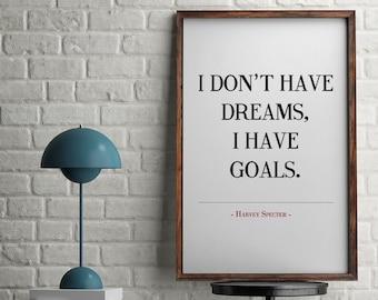 Harvey Specter Quote, Suits Poster, Printable Poster, Motivational Poster, Inspirational Poster, Wall Art, Home Decor, Suits TV Show