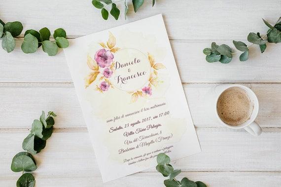 Vintage Hochzeit Hochzeit Kit Romantische Einladung Blumen Etsy