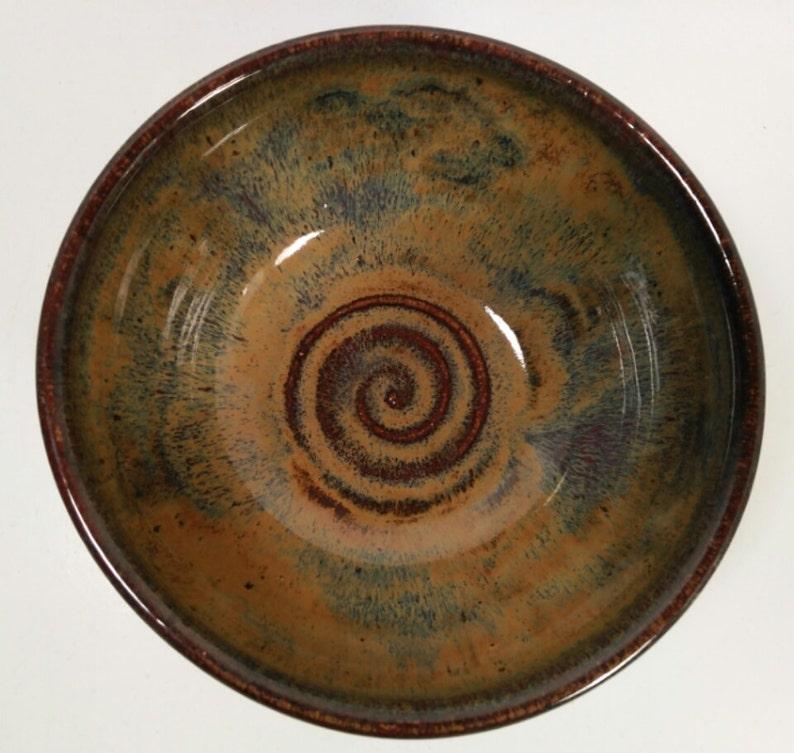Vintage Handmade Pottery Bowl Signed by maker