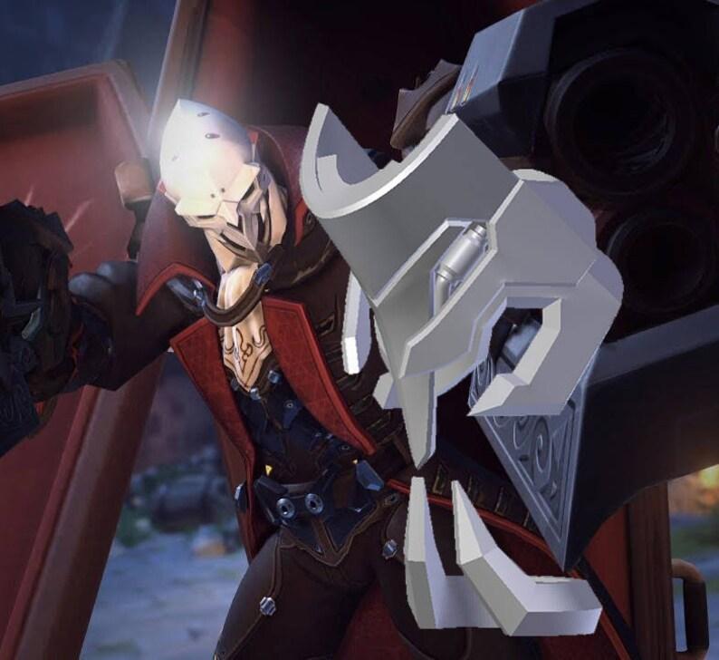 Overwatch Reaper Dracula Leg Armor 3D Model costume prop  58b4f727d47a