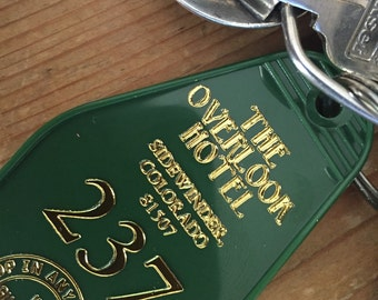 winter green 237 The Shining inspired OVERLOOK HOTEL  keytag