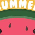 Hello Summer Garden Flag