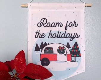 Roam for the Holidays Banner