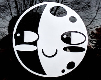 Moon Vinyl Decal