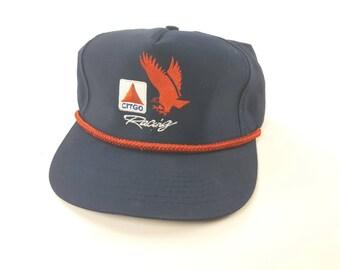 003b016359f Citgo Racing Nascar Racing Snapback Hat Gas Station Logo FREE Shipping  Vintage 90s Adjustable Baseball Cap