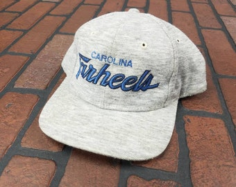 pretty nice 2dfac 3f23b ... coupon code for north carolina tar heels sports specialties heather  script snapback hat vintage 80s 90s