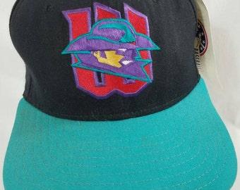 e17f80c2d7c87 FREE SHIPPING Witchita Wranglers New Era Snapback Deadstock NWT Minor  League Baseball Rare