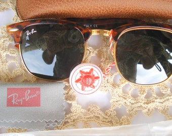 be7ee8ff7b Sunglasses Ray-Ban UV 400/Plastic Frames Dark Green Lenses / Master  Sunglasses with Brown Case/Sunglasses with Tags/Unused