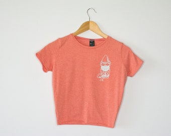 Gnome Cropped  Tee