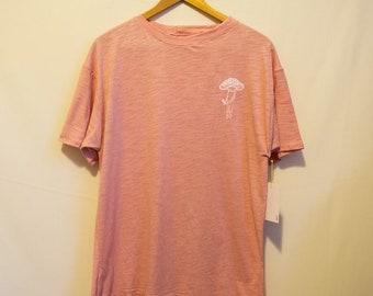 Mushroom T-shirt Mens Fit