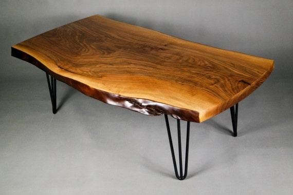 pas cher pour réduction 22467 8fd9c Table Basse, Wooden Table, Live Edge Table, Slab coffee table, one of a  kind, Walnut coffee table, coffee table, walnut furniture