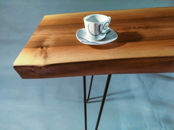 design intemporel d2a1e a768e Side Table, Live Edge Coffee Table, table basse, one of a kind , bench,  rustic table