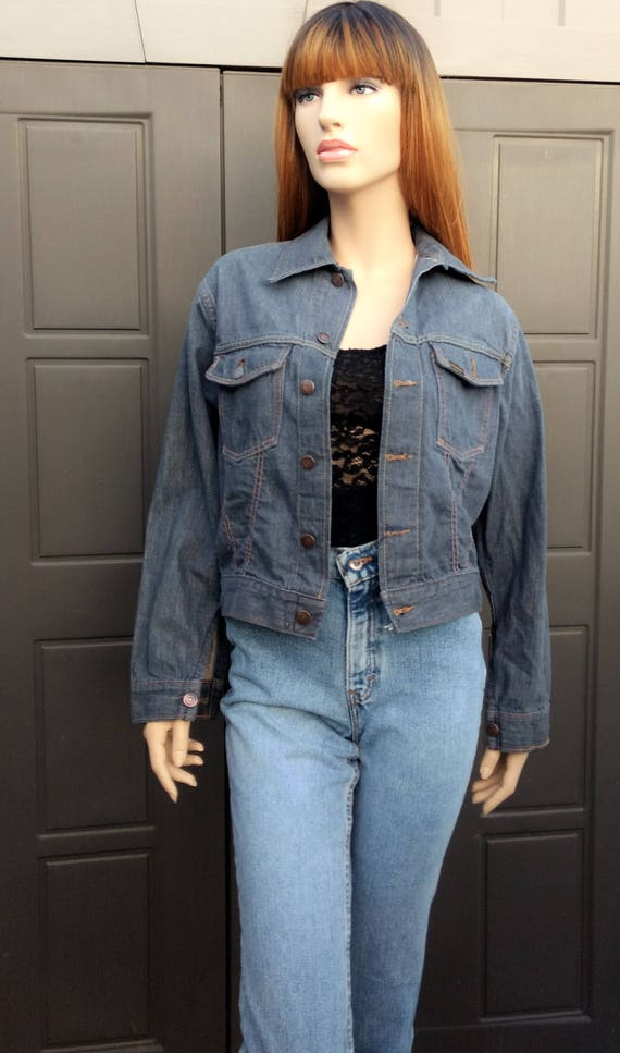 Roebucks Selvedge  Denim Jacket Vintage 50's 60's