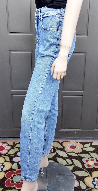 vintage 80's  Lee   Denim Jeans  vintage Lee Wais… - image 6