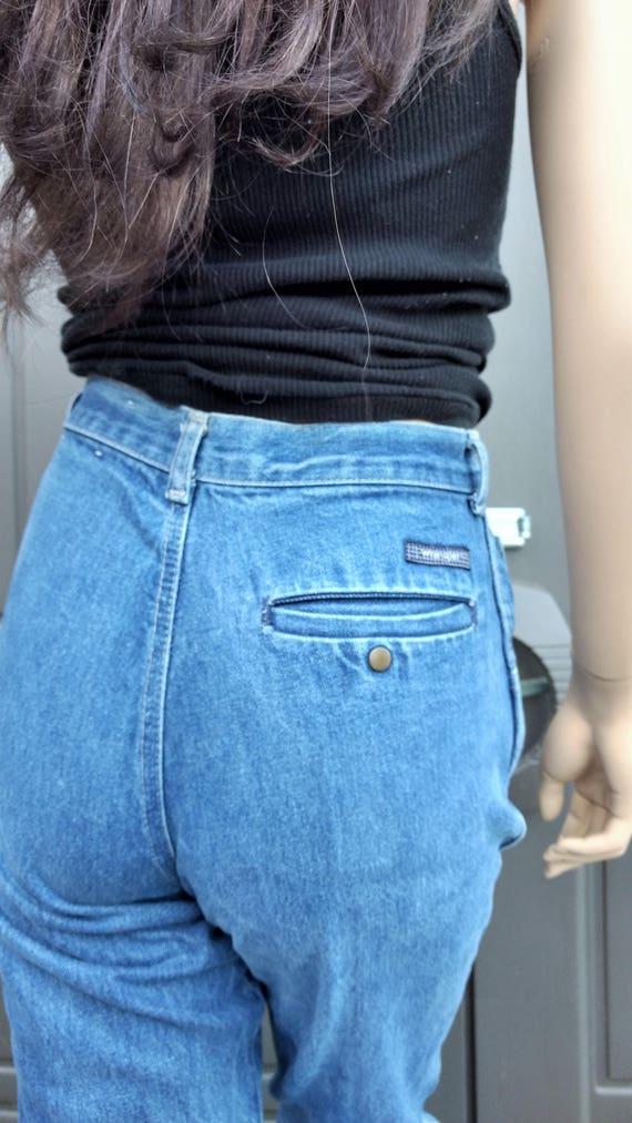 Wrangler Jeans High Waisted Denim Jeans  vintage 7