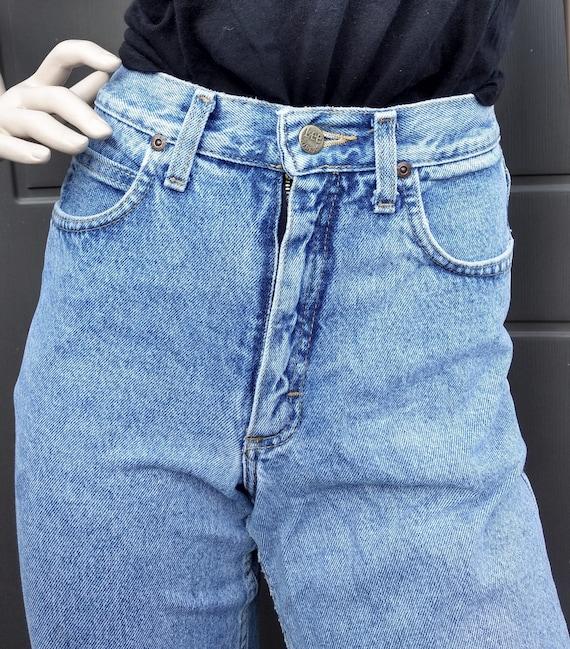vintage 80's  Lee   Denim Jeans  vintage Lee Wais… - image 7