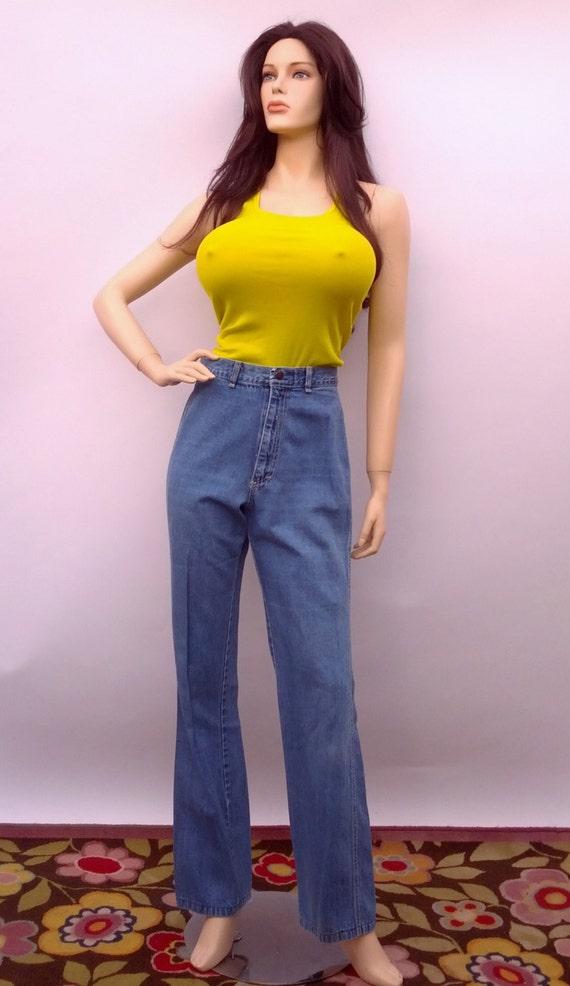 Capital Jeans High Waisted Denim Jeans  vintage 70
