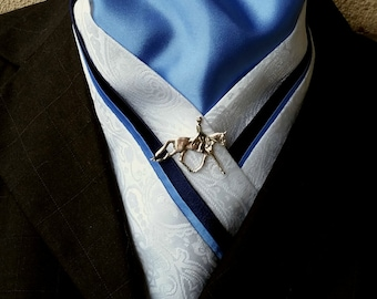 Doc's Designs' CUSTOM  Dressage Stock Tie Orders are now open! VERY limited number available!