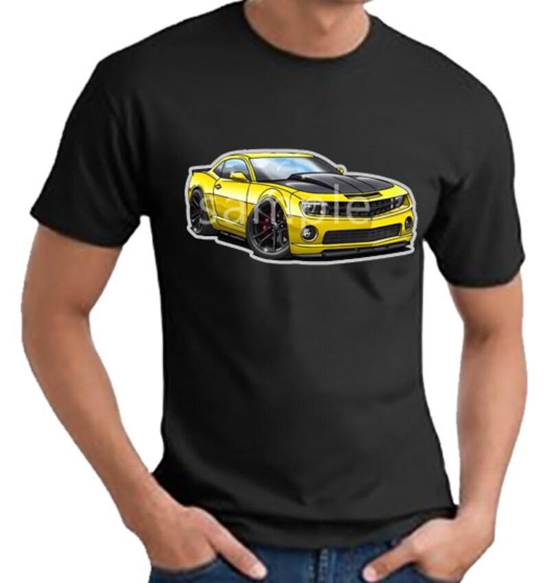 48c9a0ae Chevy Camaro SS-1LE T-shirt 0579GA muscle car automotive art | Etsy