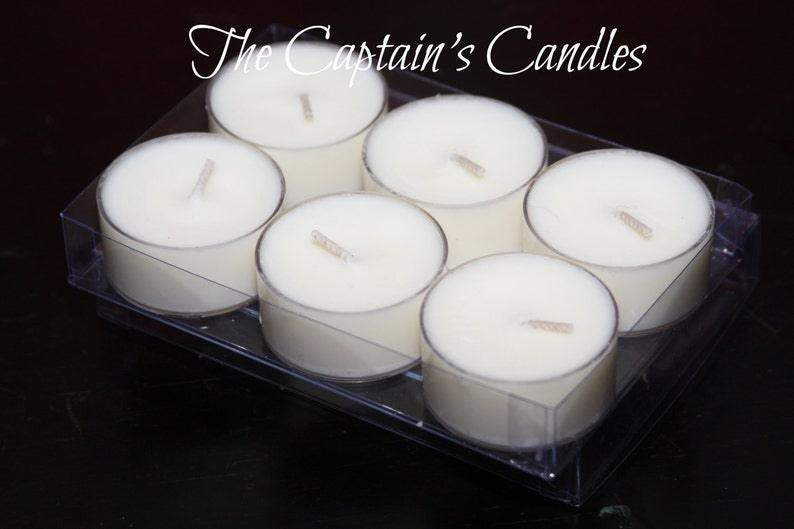 Sample Tealights  Scented Tealights  100% All Natural Soy image 0