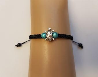 Turtle bracelet - turtle jewellery - sea turtle bracelet - turtle charm - turtle jewelry - turtle - ocean jewellery - tortoise bracelet