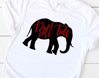 Roll Tide tshirt ~ Bama tshirt ~ Alabama shirt ~ Go Bama~