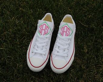Monogrammed Converse ~ Monogrammed Chucks ~ Spring shoes!!!