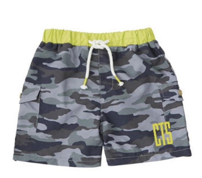 c7031bf0c8d32 Boys camo monogrammed swim trunks custom boys swim trunk | Etsy