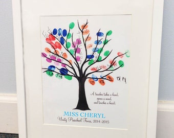 Thumbprint Art Etsy