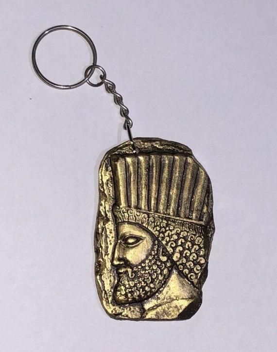 Persian Zoroastrian Keyring Persepolis Cyrus Iran Assyrian Etsy