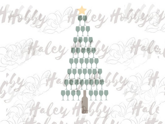 image 0 - How To Make A Wine Bottle Christmas Tree