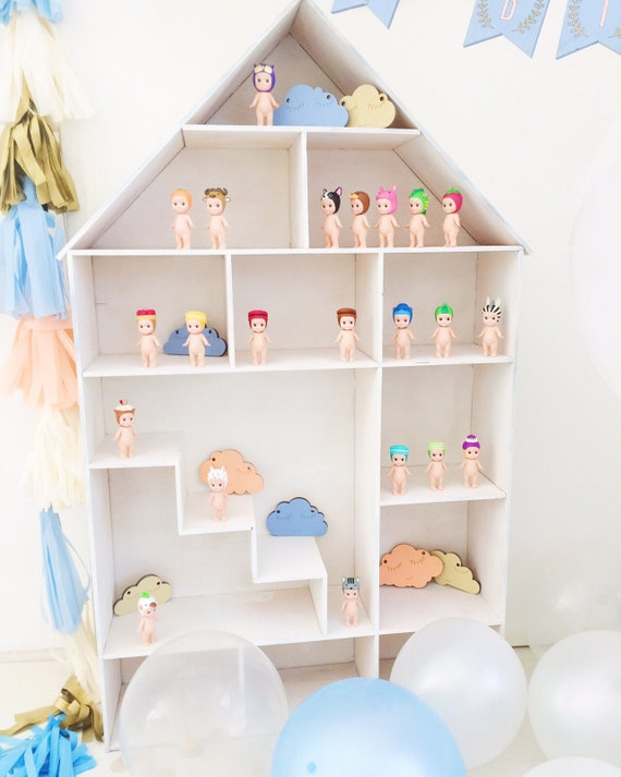 Children S House Shelf Children S Closet Doll House Etsy