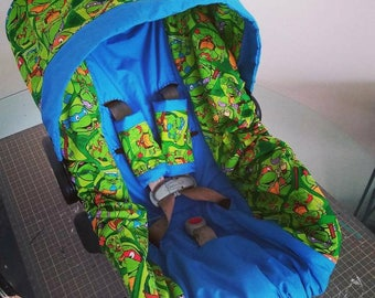Ninja Turtles Carseat Covers Inspired Cover