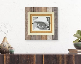 Rustic Reclaimed Wood Picture Frame | 8x10, 4x6, 5x7 picture | rustic home decor | 5 year anniversary | farmhouse home decor