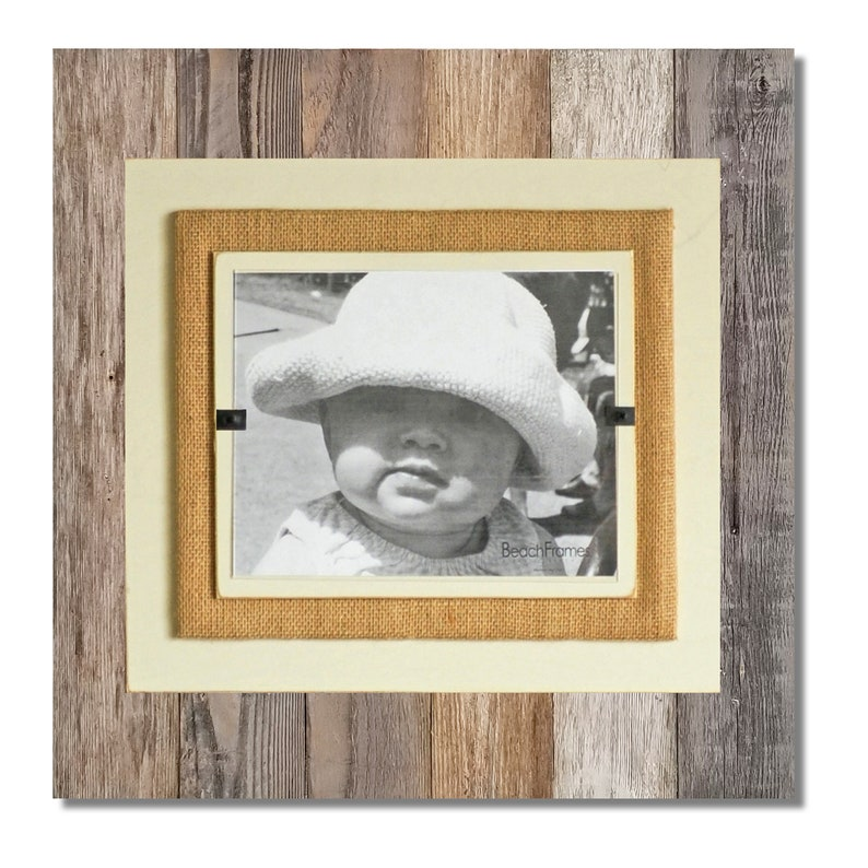 Rustic Reclaimed Wood Picture Frame  8x10 4x6 5x7 picture  image 0