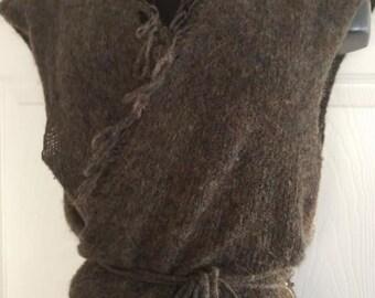 Mohair Ballet Wrap Vest SARAH PACINI O S 7939ceba1