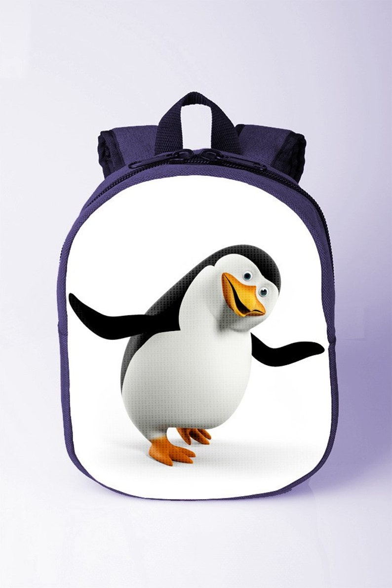 33cbb0dd7d Penguin backpack Kid school bag Baby girl boy backpack Canvas