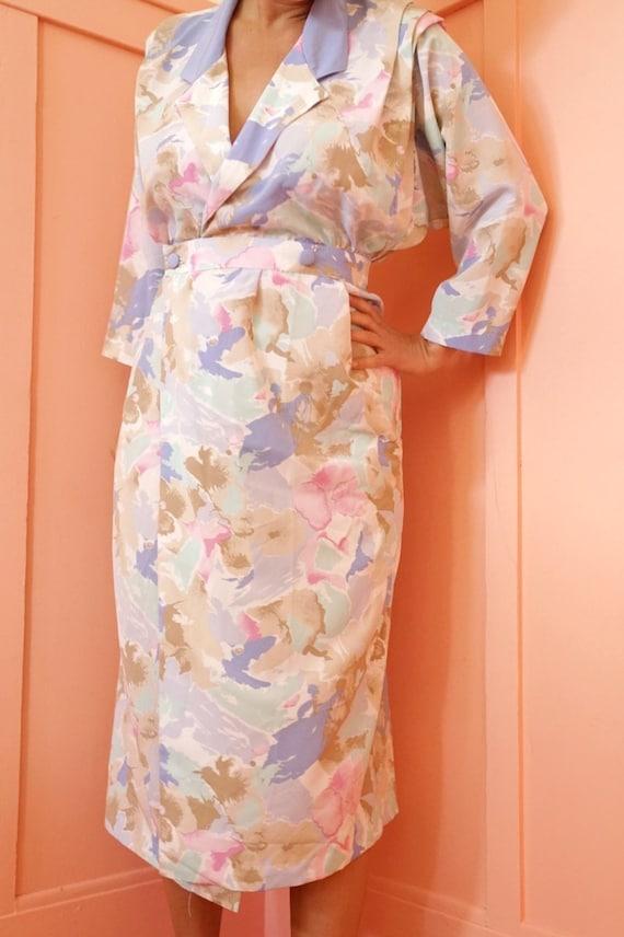 80s Pastel Dress