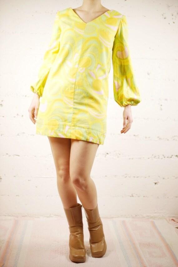 60s Mod Mini Dress