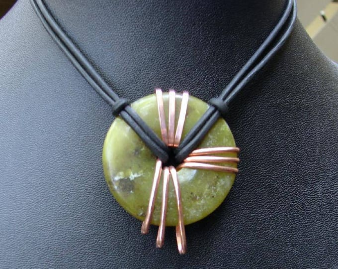 Jade Energy Stone Necklace