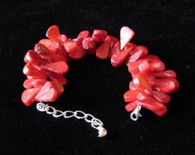 Coral Tears Bracelet
