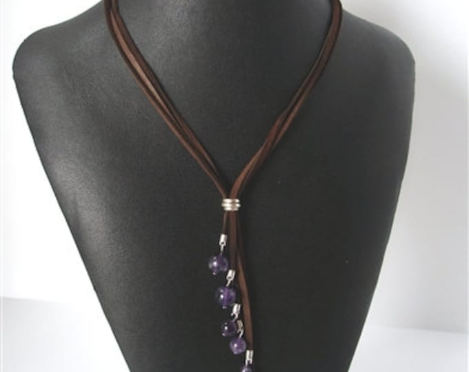 Amethyst Cascade Necklace