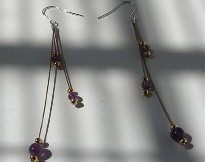 Amethyst Vineyards Earrings