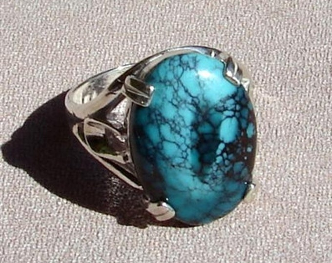 Medium Turquoise Cabochon Ring