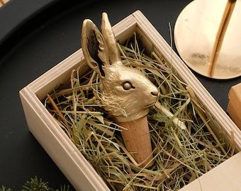Easter Bunny Easter Rabbit Bottle Stopper Rabbit