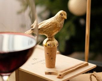 Bottle Stopper Bird. Wine stopper. Bottle cork