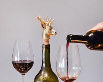 Deer. Bottle stopper