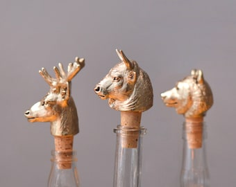 Set of any three Bottle Stoppers