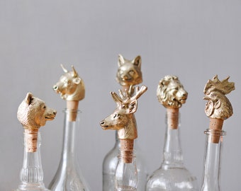 Set of any five Bottle Stoppers