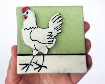 Chicken Tile Etsy